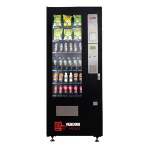 máquinas expendedoras snacks y bebidas